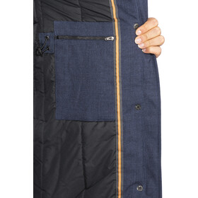 Elkline Apres Ski Winter Coat Damen darkbluemelange